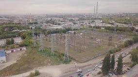 Antena da zona industrial filme
