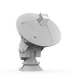 Antena de antena parabólica Fotografia de Stock Royalty Free