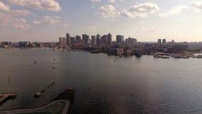 Antena de Boston video estoque