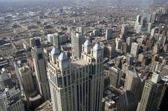 Antena de Chicago imágenes de archivo libres de regalías