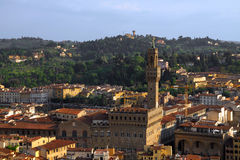 Antena de Florença, Italy imagem de stock