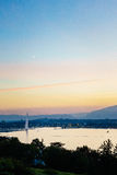 Antena de Genebra, Switzerland Imagens de Stock