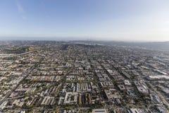 Antena de Glendale cerca de Los Ángeles California Imagen de archivo libre de regalías