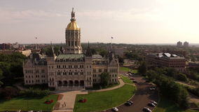 Hartford Aerial Stock Footage