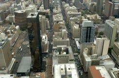 Antena de Johannesburg Fotos de archivo