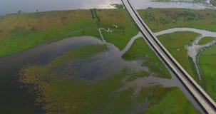 Antena de la bahía después de la tormenta 2 imagenes de archivo