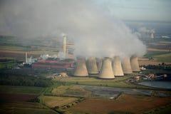 Antena de la central eléctrica Fotos de archivo libres de regalías