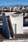 Antena de la ciudad de Faro Fotos de archivo libres de regalías
