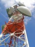 Antena de la comunicación Foto de archivo