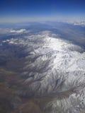 Antena de la montaña rocosa Imagenes de archivo