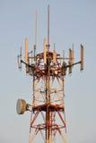 Antena de la torre del teléfono celular Imagen de archivo libre de regalías