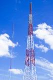 Antena de las comunicaciones Foto de archivo libre de regalías