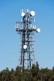 Antena de las comunicaciones Fotos de archivo