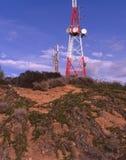 Antena de las telecomunicaciones Foto de archivo