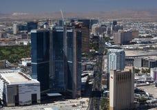 Antena de Las Vegas Blvd imagen de archivo libre de regalías