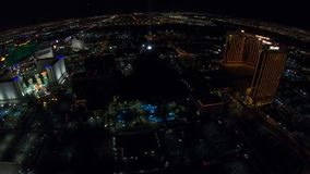 Antena de Las Vegas Excalibur almacen de metraje de vídeo