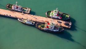 Antena de los barcos Suráfrica del tirón Fotos de archivo libres de regalías