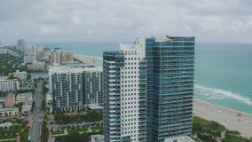 Antena de Miami almacen de metraje de vídeo