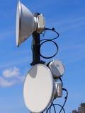 Antena de microonda fotografía de archivo libre de regalías