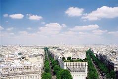 Antena de París Imagen de archivo libre de regalías