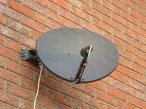 Antena de plato Imagenes de archivo