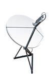 Antena de plato basado en los satélites Fotos de archivo