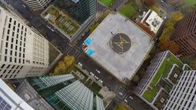 Antena de Portland céntrica almacen de metraje de vídeo