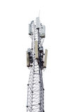 Antena de prato satélite Foto de Stock