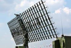Antena de radar Imágenes de archivo libres de regalías