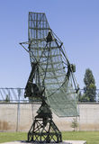 Antena de radar Fotografia de Stock Royalty Free