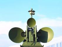 Antena de radar Foto de archivo