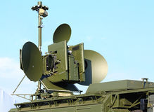 Antena de radar Imagenes de archivo