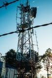 Antena de radio Fotografía de archivo