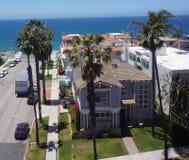 Antena de Redondo Beach 30 grados de abejón Foto de archivo