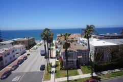 Antena de Redondo Beach 30 graus de zangão Fotos de Stock