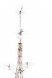 Antena de televisão Imagem de Stock Royalty Free
