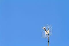 Antena de televisão Foto de Stock