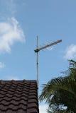 Antena de televisão Fotografia de Stock