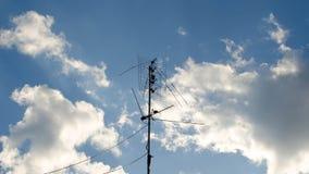 Antena de televisão Fotos de Stock