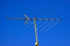 Antena de televisión Fotos de archivo libres de regalías