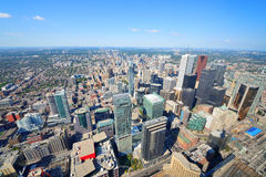 Antena de Toronto Foto de Stock Royalty Free