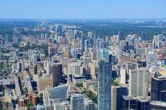 Antena de Toronto Imagens de Stock