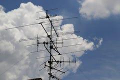Antena de TV Imagenes de archivo