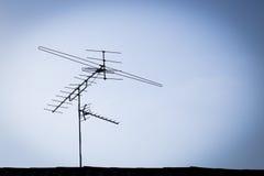 Antena de TV Imagen de archivo