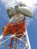 Antena de uma comunicação Foto de Stock