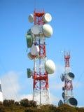 Antena de uma comunicação Imagens de Stock