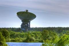 Antena de uma comunicação de espaço Foto de Stock