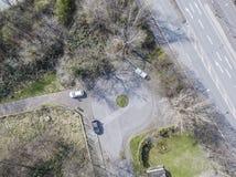 Antena de un camino del callejón sin salida Imagen de archivo