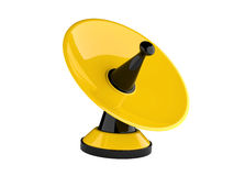 antena dei riflettori parabolici 3d Fotografia Stock