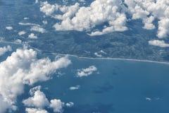 Antena del aeroplano de América imagenes de archivo